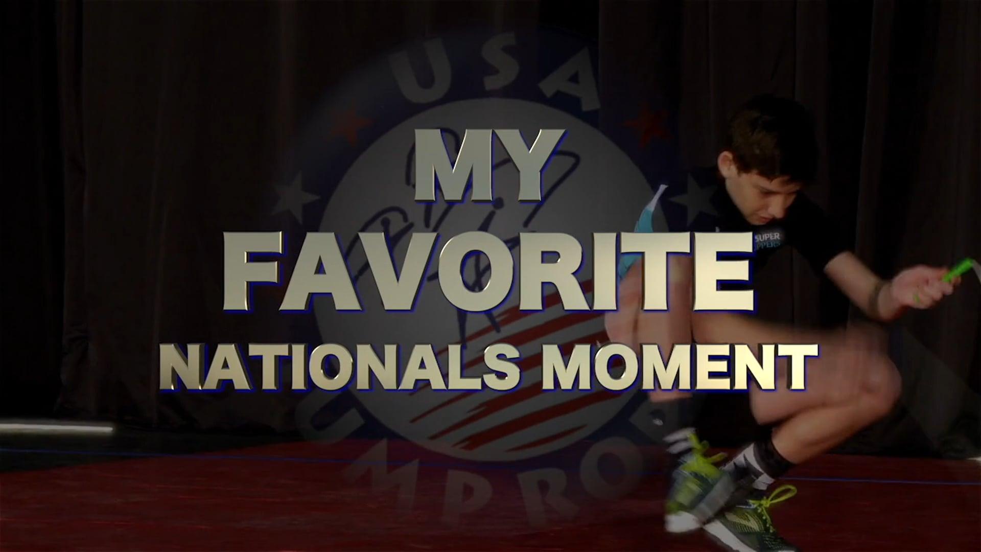 My Nationals Moment - Ricki