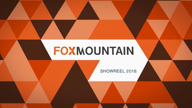 Showreel 2018  -  Foxmountain