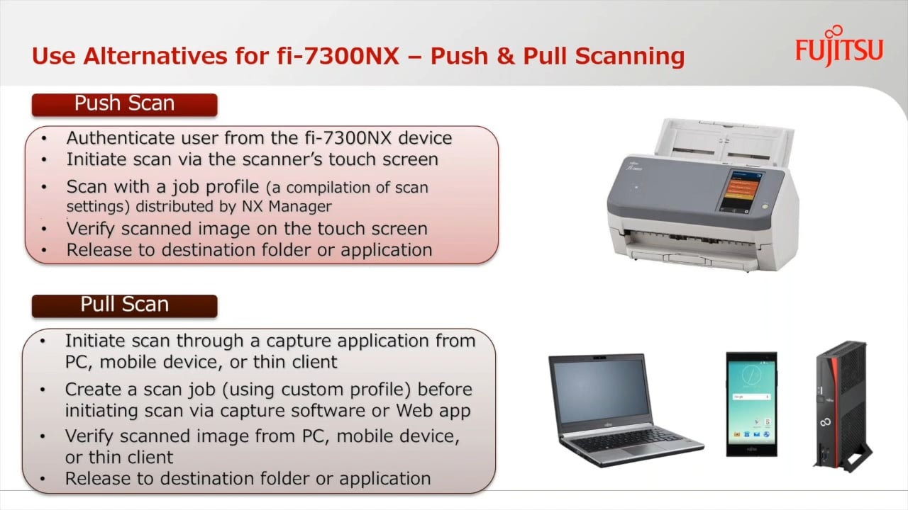 Webinar : Customizing the fi-7300NX with Professional Services