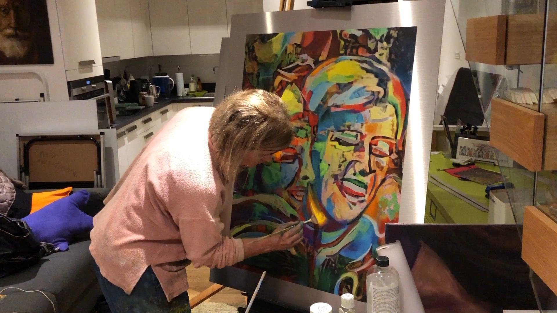 """Painting """"Joys"""""""