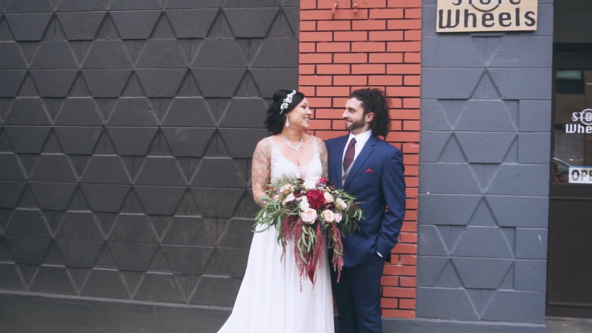 Victoria + Zachary // Highlight Reel // The Baker Building // Portland, OR