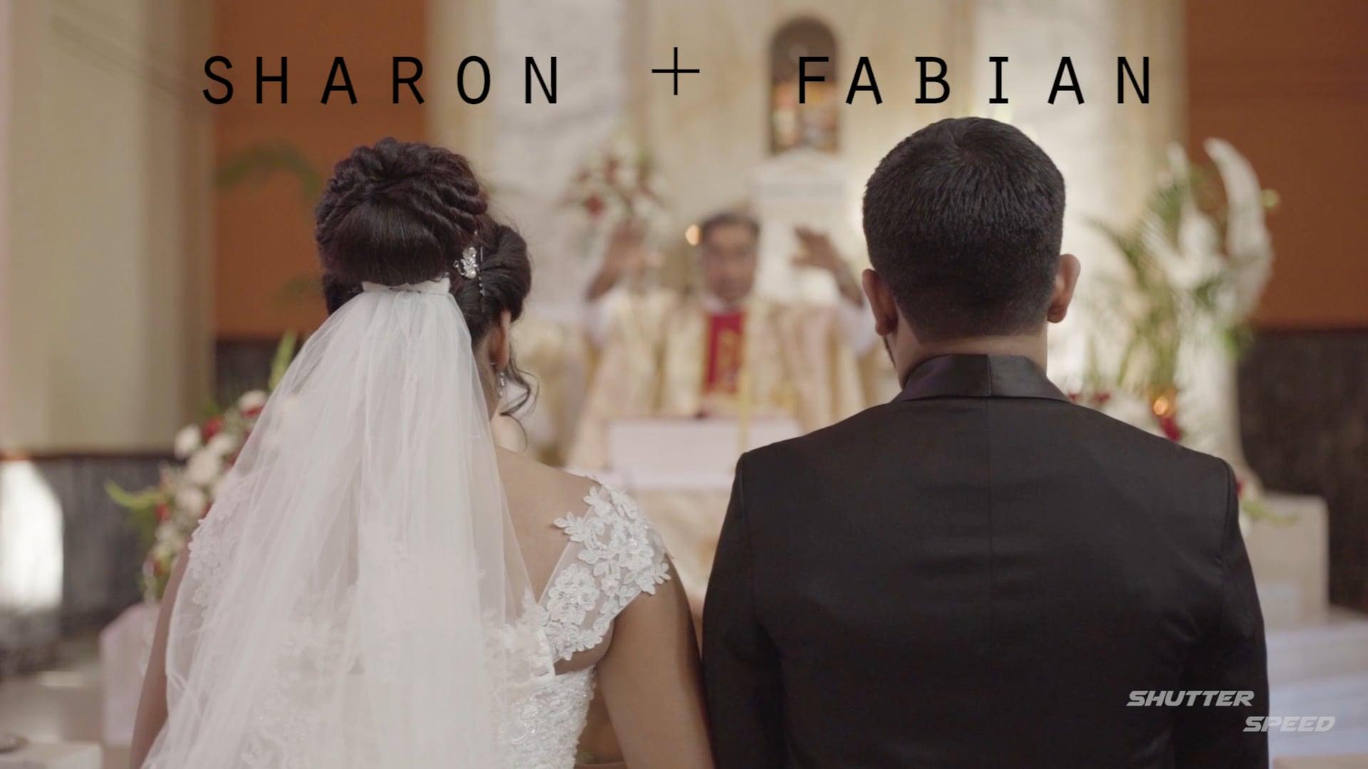 Sharon weds Fabian