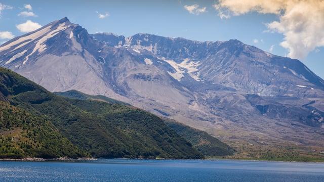 Spirit Lake, Mt. St. Helens