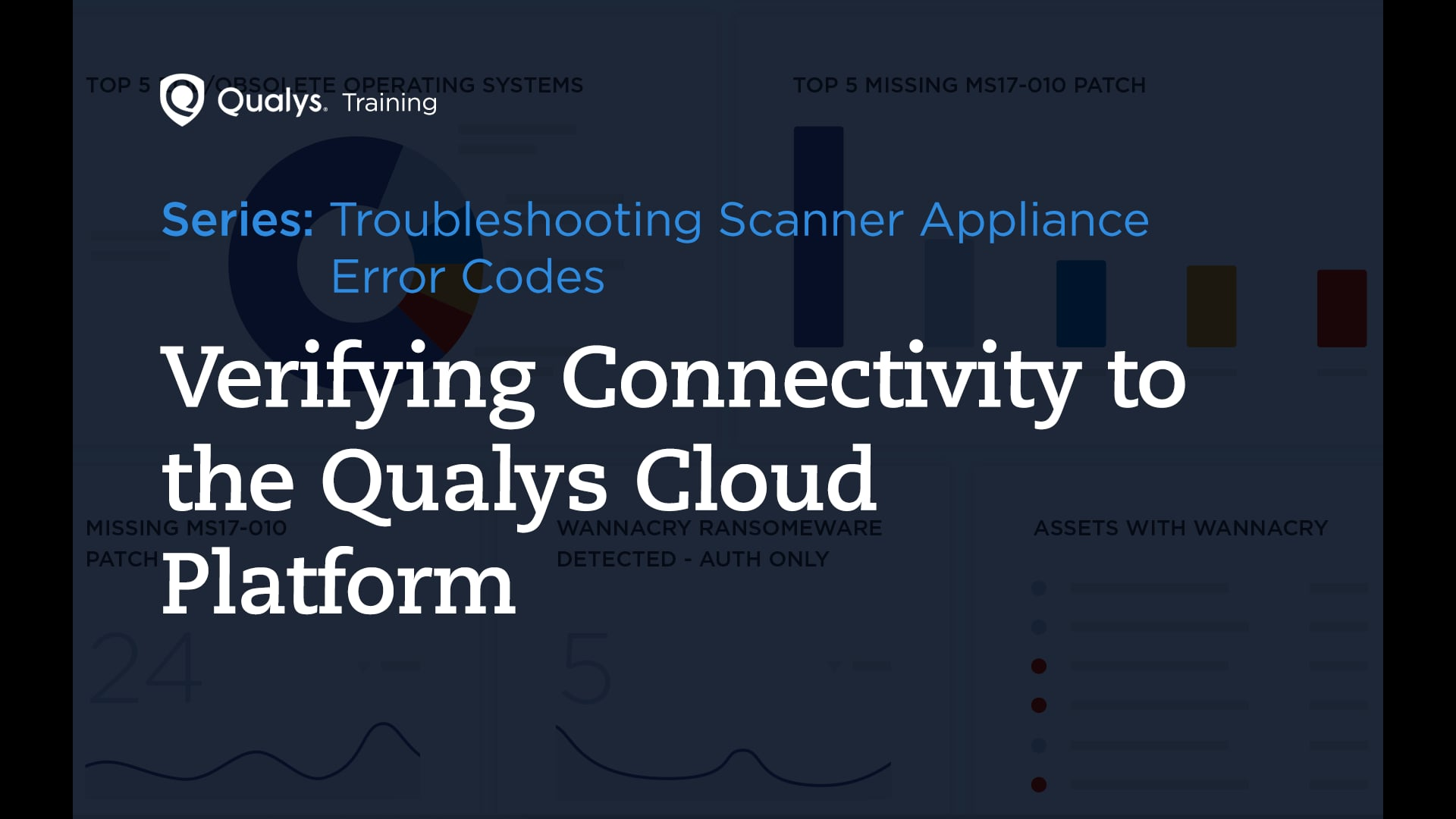 Verifying Connectivity to the Qualys Cloud Platform