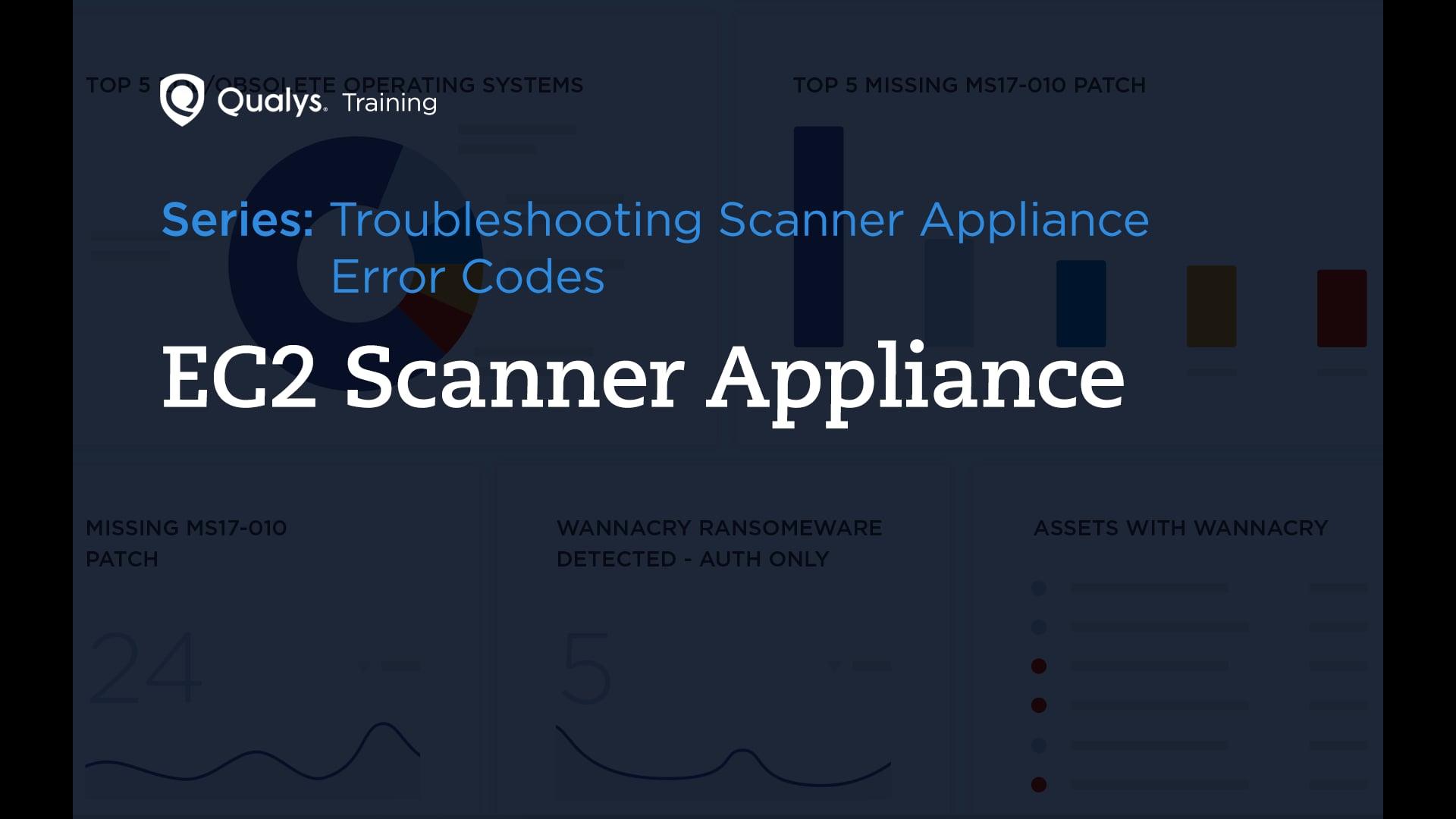 EC2 Scanner Appliance