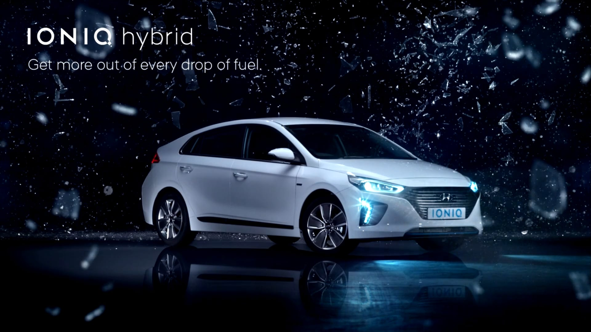 (TV UK Version) Hyundai IONIQ Hybrid - The Amazing Drop of Fuel