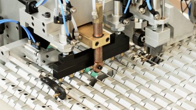 121/10 Auto pin - coil welding