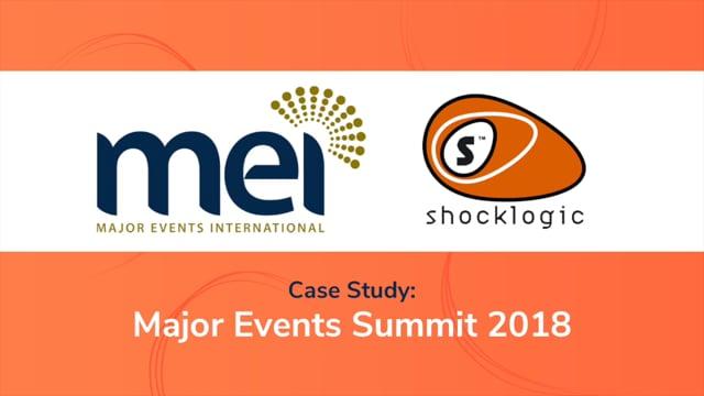 Major Events Summit - Case Study 2018