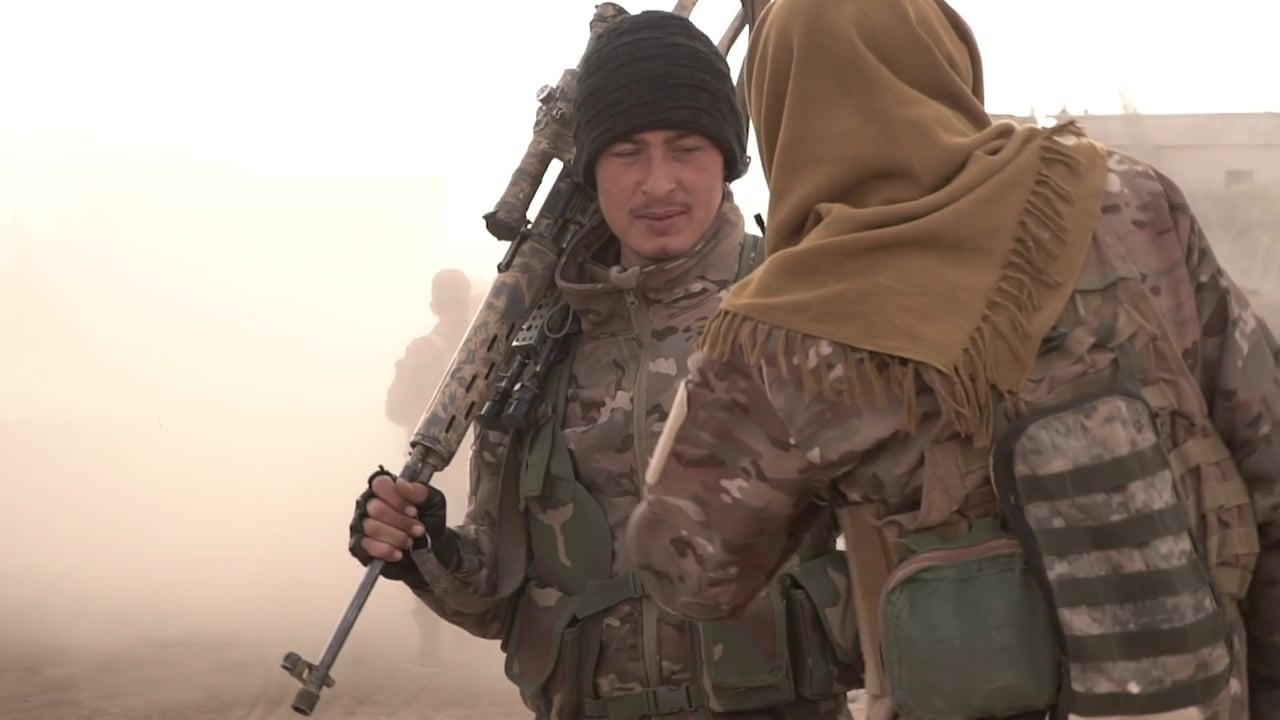 CGTN in Eastern Syria - Battle for Baghuz