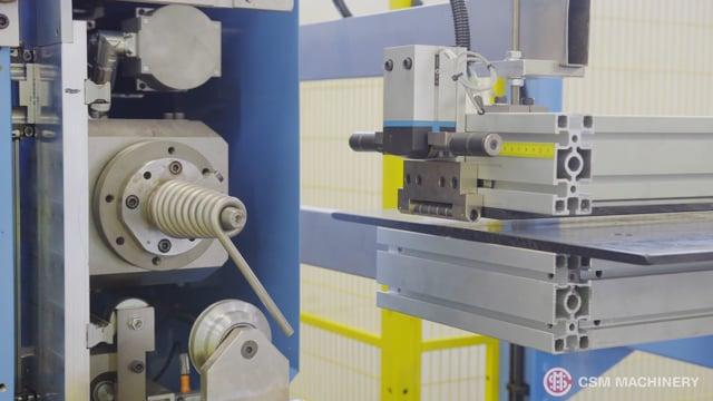 170-20.CNNN BENDING MACHINE FOR CIRCULAR ELEMENTS