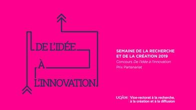 Concours «De l'idée à l'innovation» - Équipe finaliste au Prix Partenariat : Bénévolons, partageons, apprenons