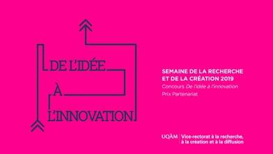 Concours «De l'idée à l'innovation» - Équipe finaliste au Prix Partenariat : Danse et santé