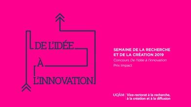 Concours «De l'idée à l'innovation» - Équipe finaliste au Prix Impact : BIPeR