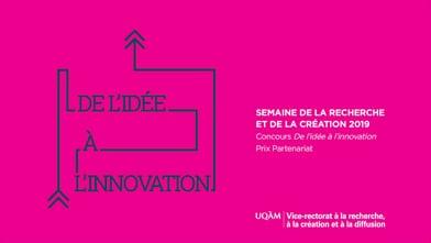 Concours « De l'idée à l'innovation » - Équipe finaliste au Prix Partenariat : Les environnements immersifs au service des apprenants