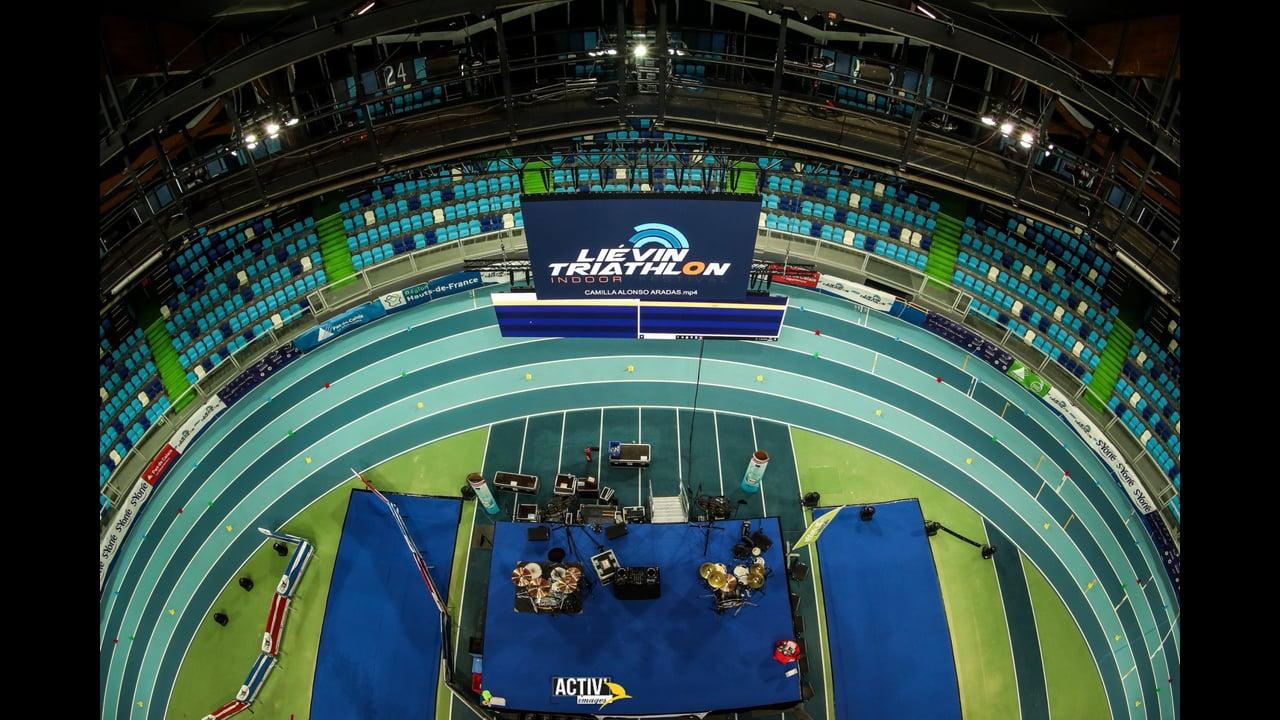 Triathlon indoor festival de Liévin