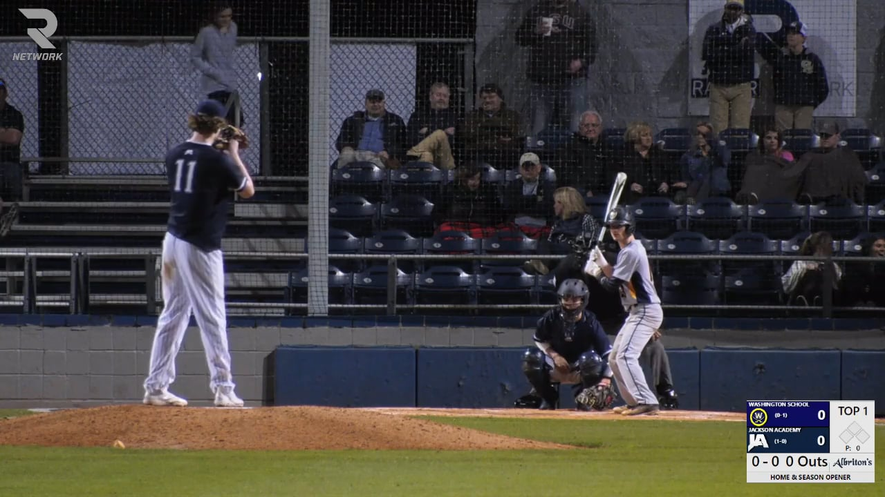 Varsity Baseball-2019-Feb 14-Washington School (DH GM 2)