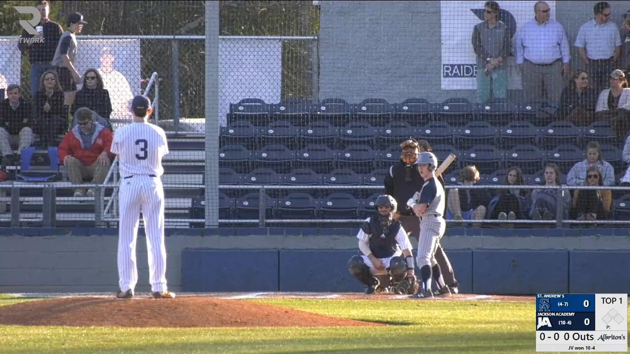 Varsity Baseball-2019-Mar 19-St. Andrews