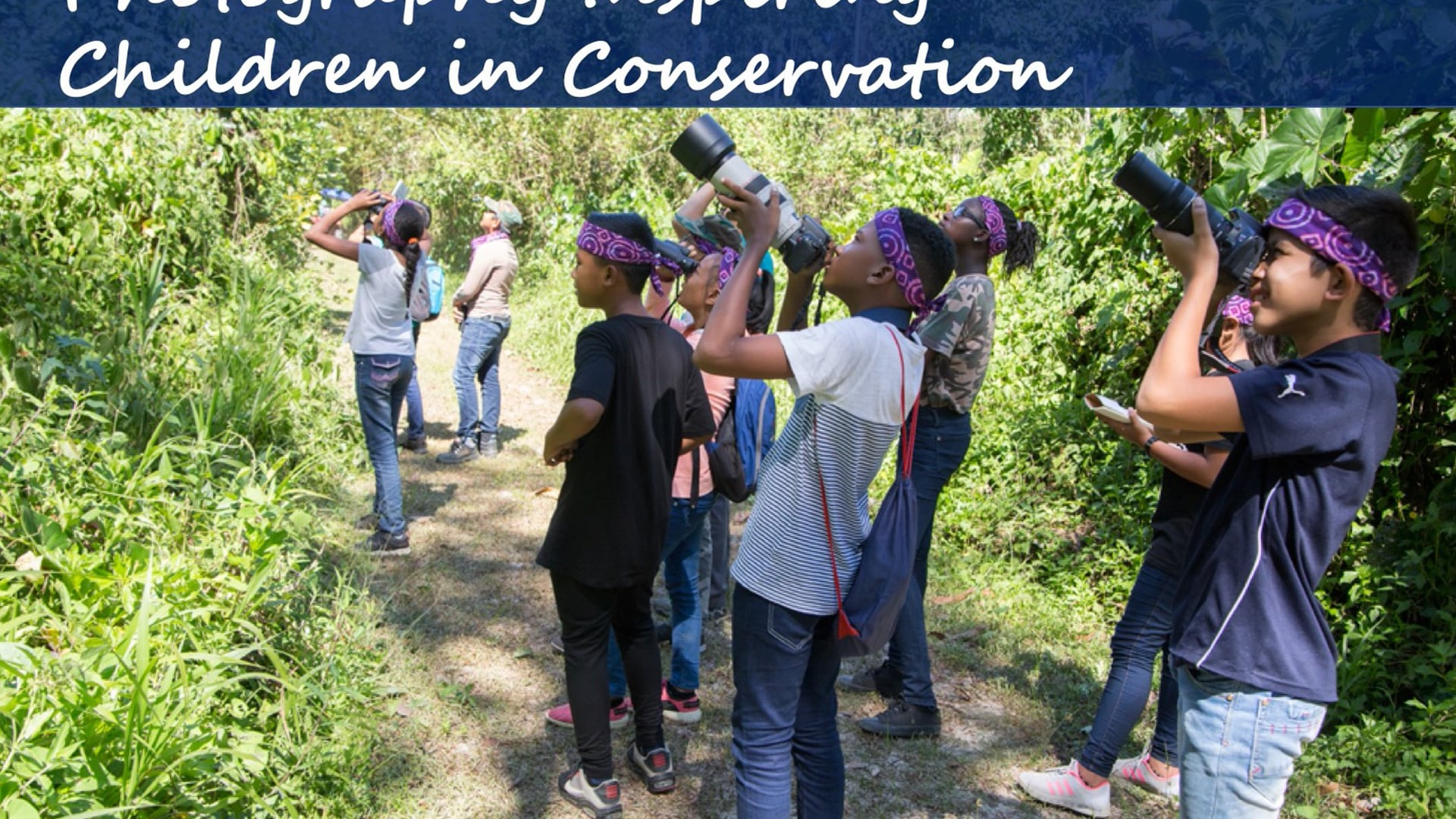 Photography Inspiring Children in Conservation - A Trailer