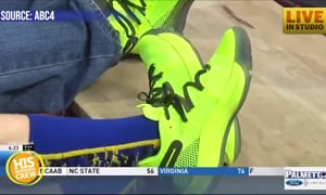 Local Boy Asks Steph Curry for Help Surprising Dad