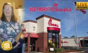 #GetMarytoChickfila: HIS Radio Family Rallies to Help Mary