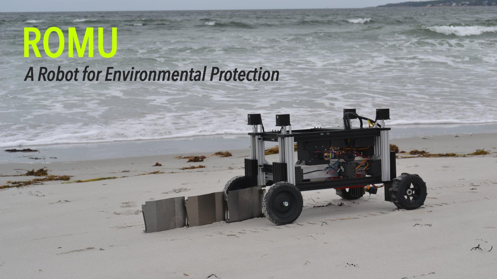 Romu: A Robot for Environmental Protection