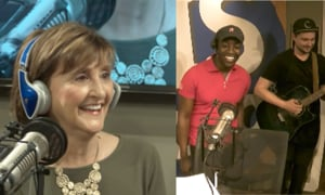 Trudy Cathy White Enjoys Live Chick-fil-A Song Performance