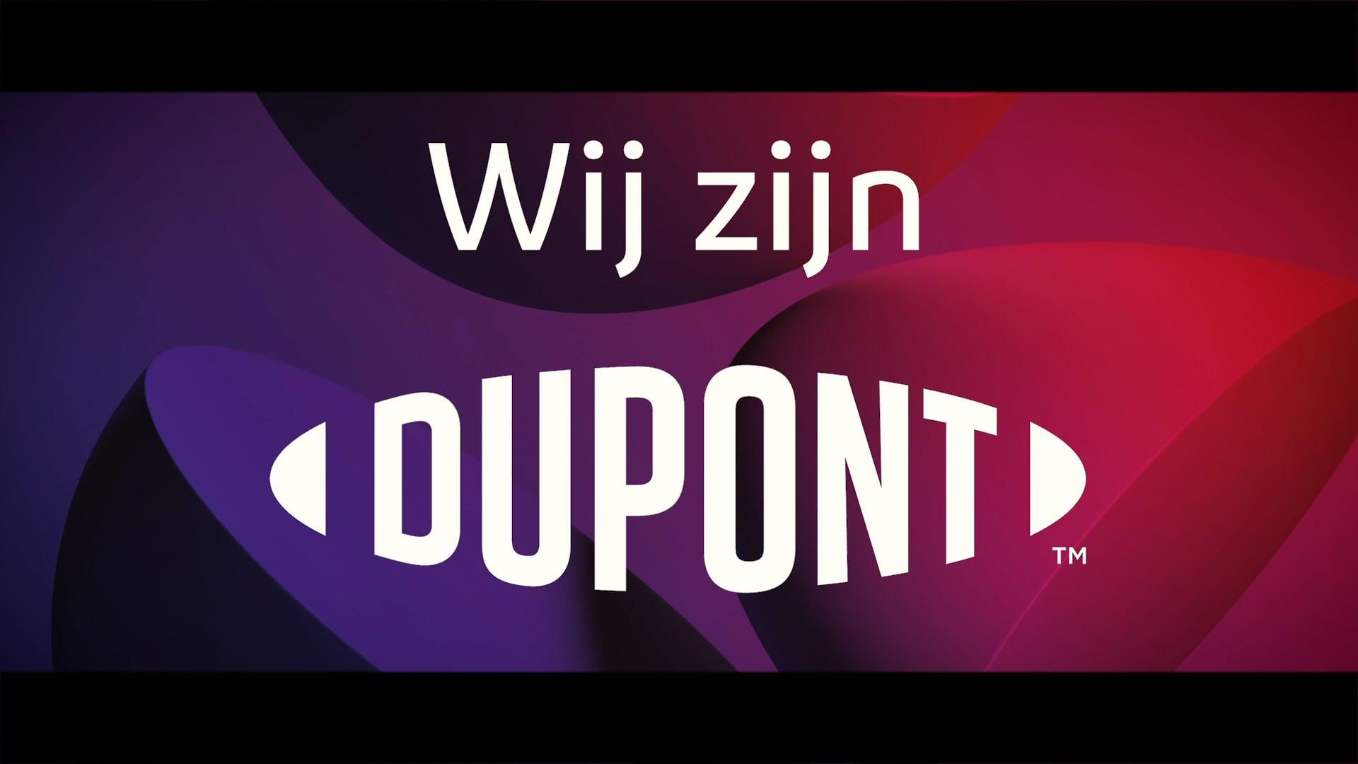 Kick-off van de campagne 'Wij zijn DuPont'