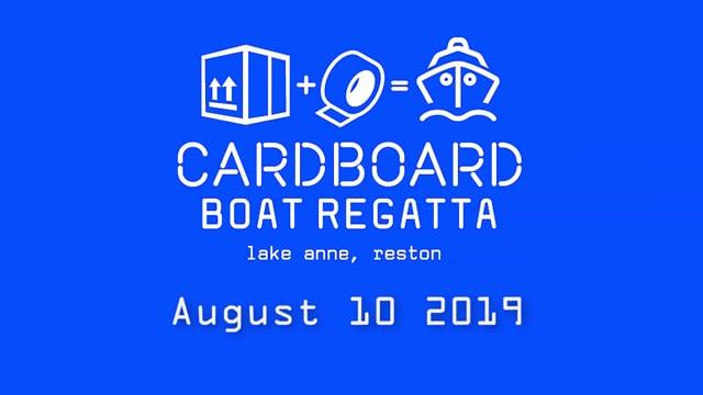 cardboard boats 1 minute