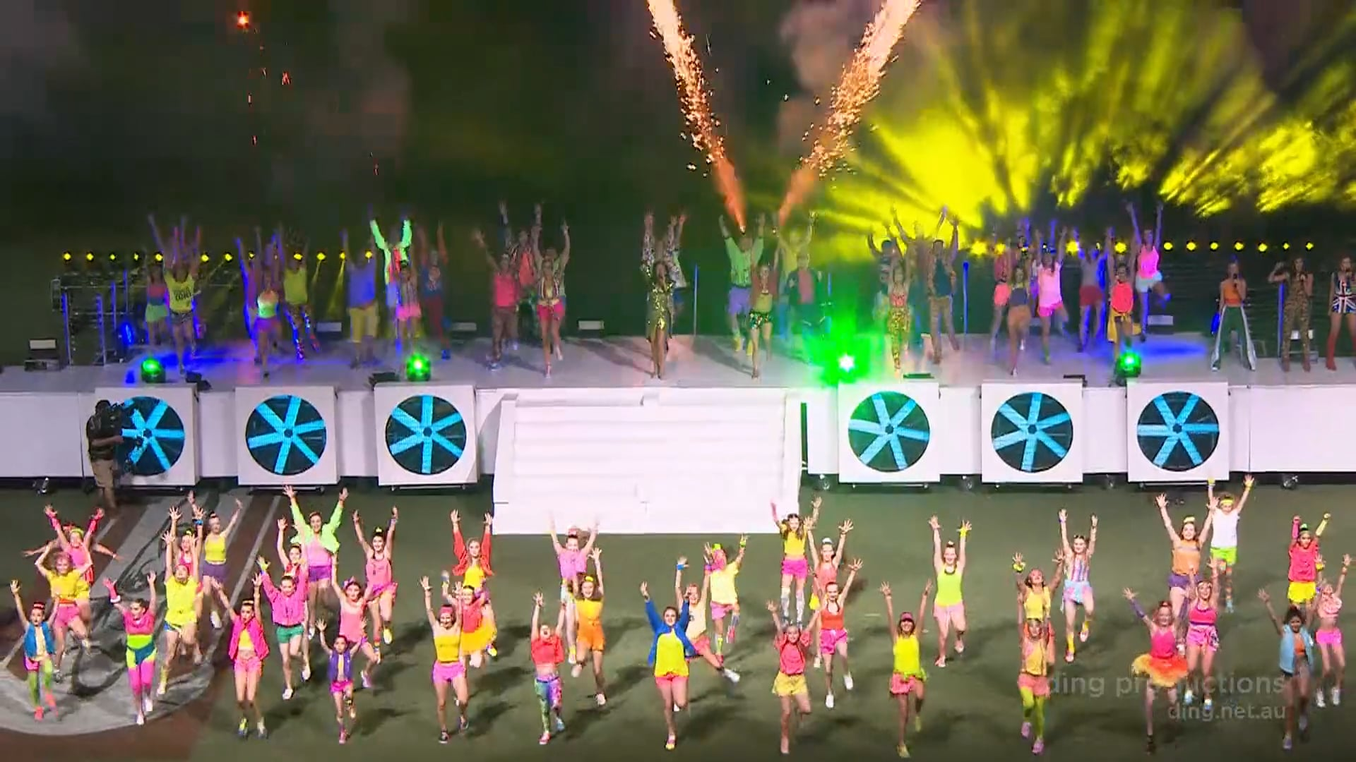 NYE 2018 Adelaide Oval - The Adelaide Strikers