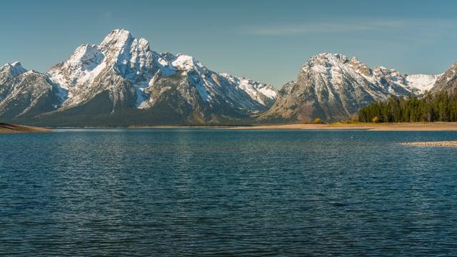 Jackson Lake. Grand Teton
