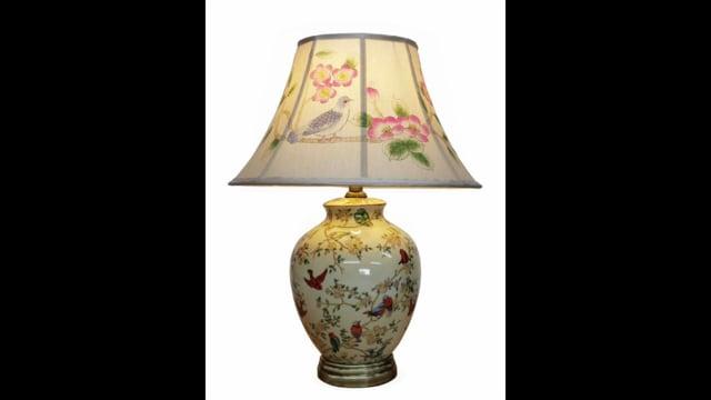 Amiska Chinese Porcelain Lamps