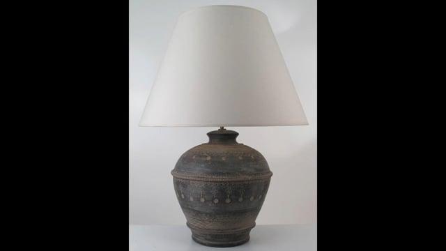 Amiska Handmade Pottery Lamps