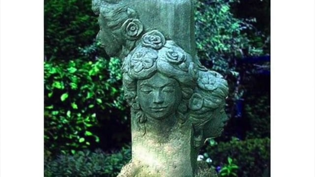 Amiska Stone Statues