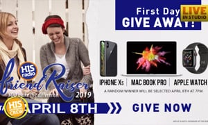 FriendRaiser Starts in a Week! First Day Giveaway