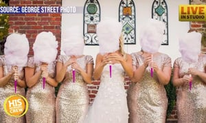 Fluff News: Brides Swapping Flowers for Cotton Candy