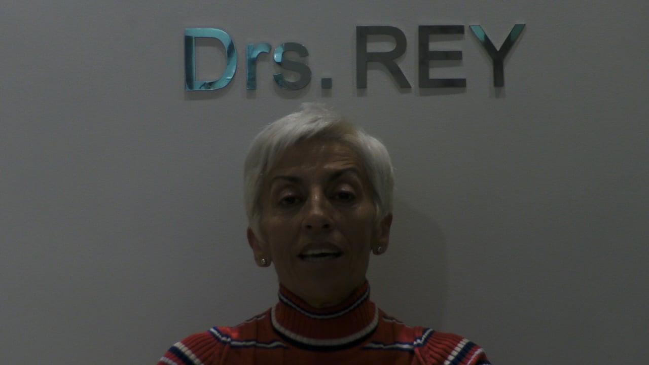 Implantes Valladolid Doctores Rey. Paciente satisfecho.