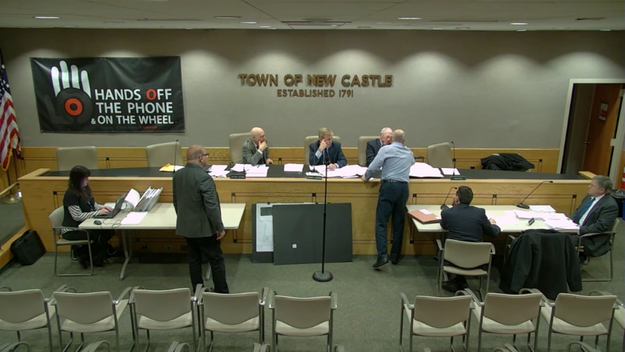 Town of New Castle Zoning Board Meeting 4/1/19
