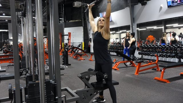 Wide Grip Overhand Lat Pulldowns