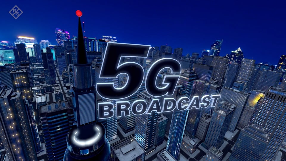 5G Broadcast on Air