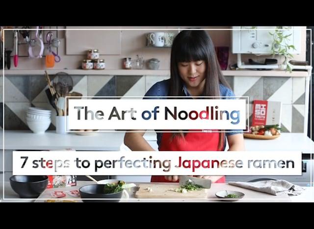 The Art Of Noodling/ MisoTasty