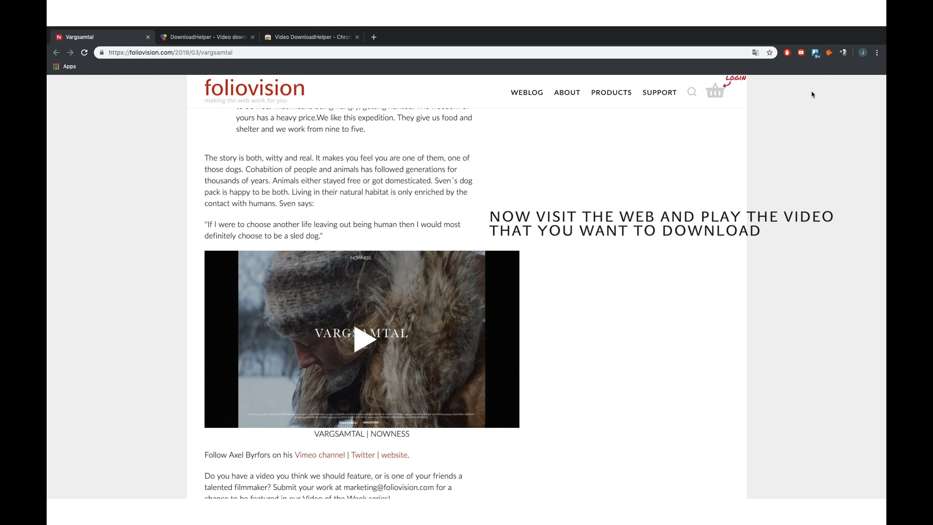 How to download videos with VideoDownloadHelper