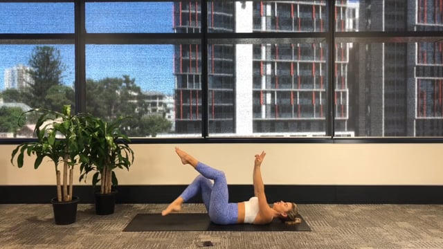 35 min lower body and ab workout