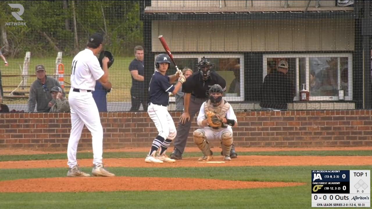 Varsity Baseball-2019-Apr 3-Oak Forest (DH GM 2)