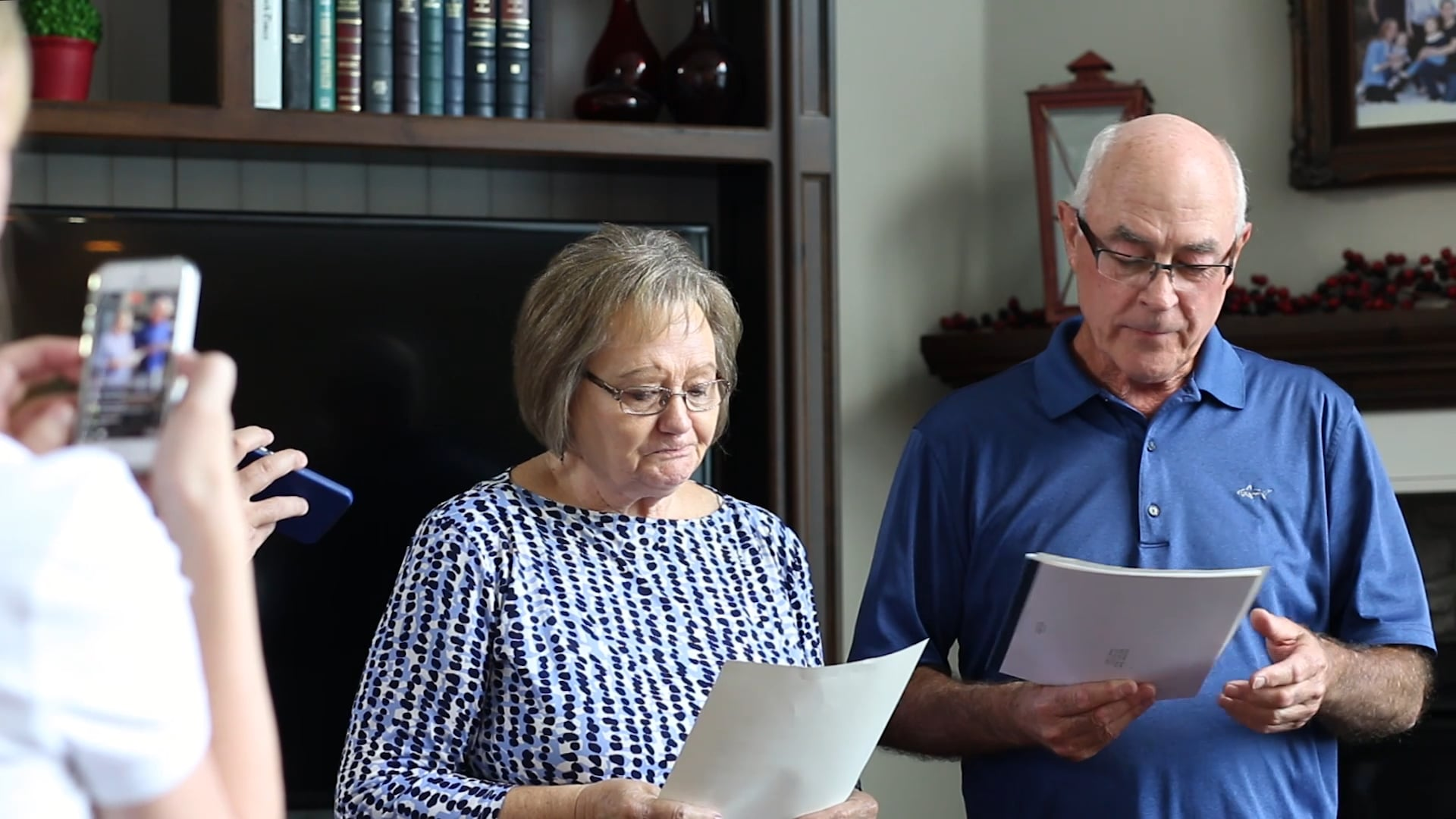 Ron and Lylene's Mission Call Opening