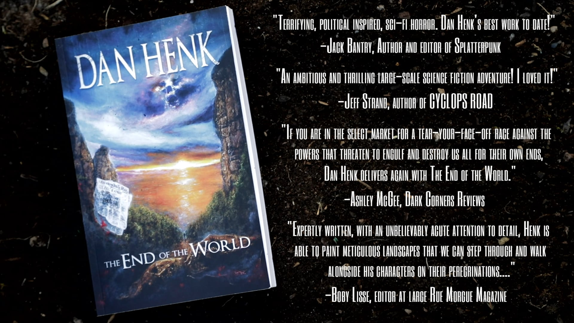 The End of The World Book Promo - Written by Dan Henk