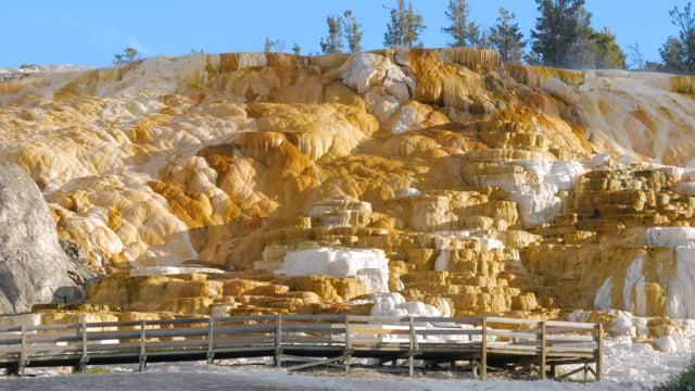 Yellowstone Mammoth Hot Springs