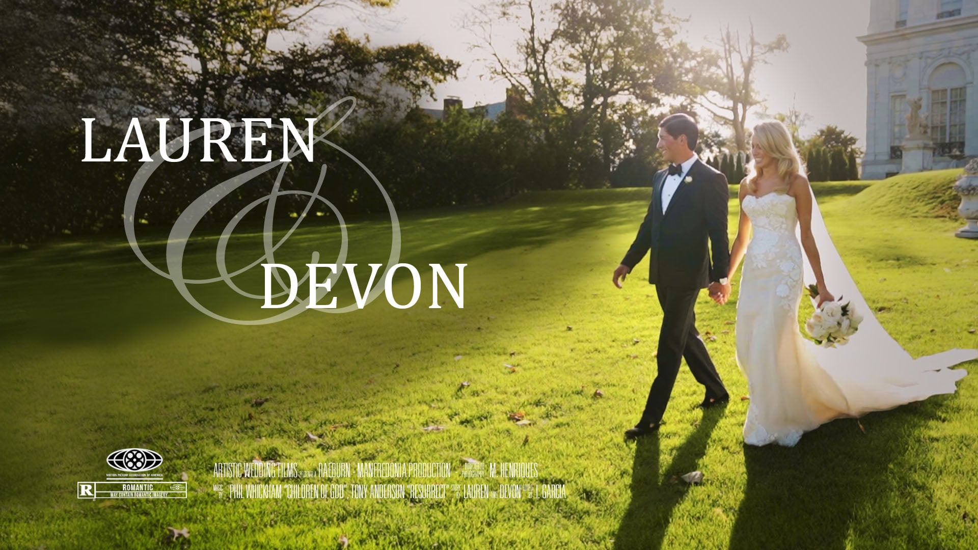 Lauren & Devon's Wedding Film Short // Rosecliff Wedding // Newport