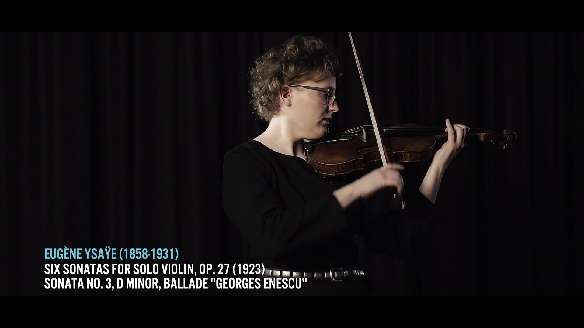 Léonie Sonning Talent Prizes 2019 – Christine Bernsted plays Eugène Ysaÿe Sonata No. 3 in D Minor