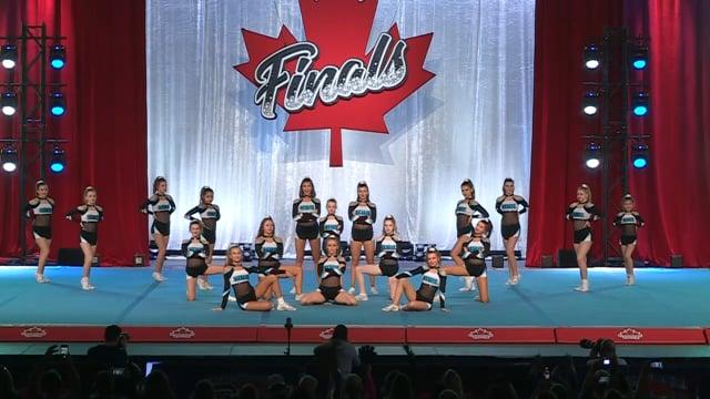 Central Cheer Cheetahs  Sassy Katz - Canadian Finals Level 2