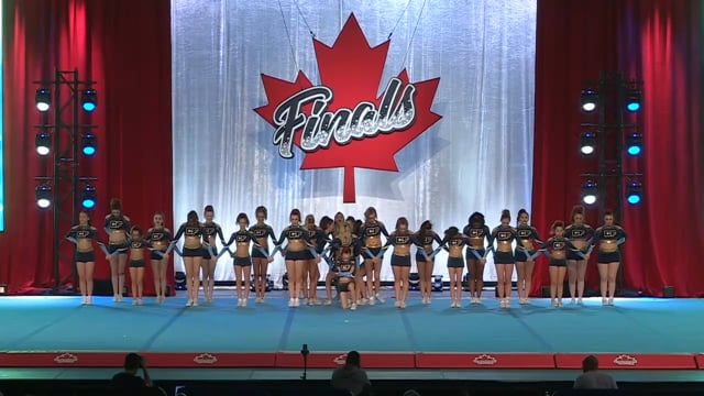 CheerForce WolfPack  Thrive - Canadian Finals Level 2